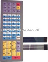 Tactile Membrane Switch Keyboards