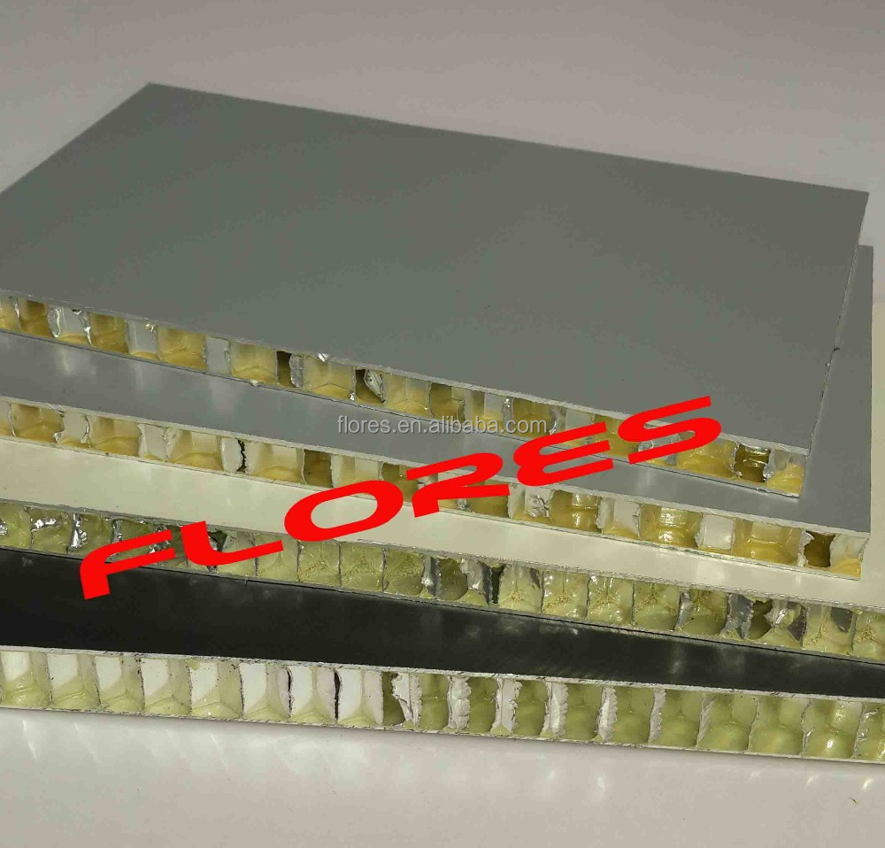 Building facades material 10mm aluminum honeycomb compound panel