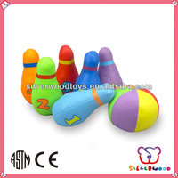 Colour Bowling Ball For Sales Promotion Made From Non Phthalate Material