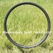 high quality chinese factory APEX 27.5er 650b carbon hookless down hill mtb rims width 40mm tubeless