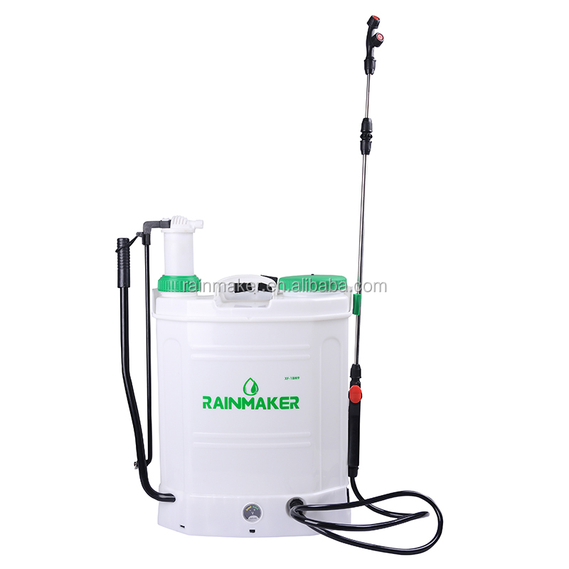 Rainmaker Agricultural Electric Backpack Power Sprayer Knapsack Manual Sprayer 2 in 1