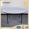 Hot sale dining table designs / round wooden folding tables