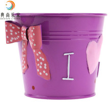 2017 cheap price table decorative metal container