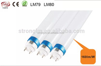 Hotsell TUV CE SAA approved 160lm/W high quality t8 led tube 1500mm t8 led tube 20W t8 led tube