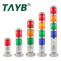 Machine Multi warning led lights bulbs Beep Signal Tower light