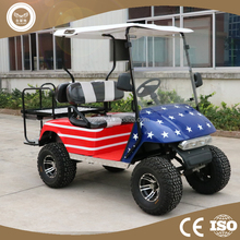 China 4 seats off road golf carts dune buggy for sale with gasoline or electric