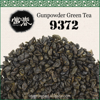 Not expensive Chinese green tea gunpowder 9372