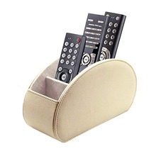 High quality customized leather TV control holder for home storage