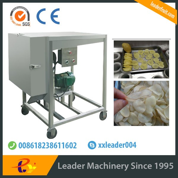 Leader Factory directly supply potato slicer/ potato slicing machine/middle fruit chips making machines