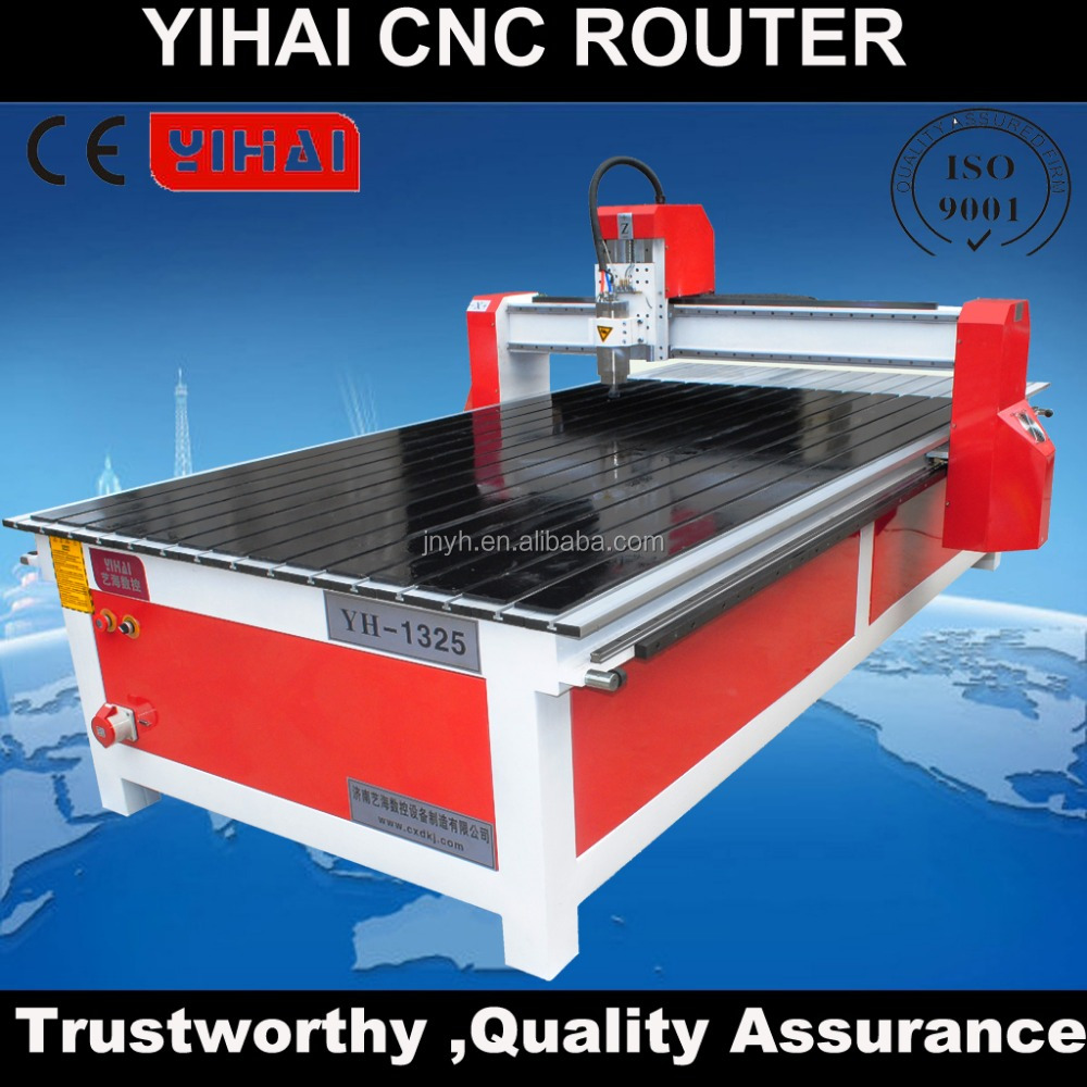 Wood door carving cnc router 1325/furniture making machine with vacuum bed