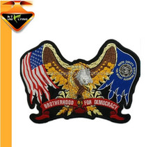 Eagle Pattern Custom Made Embroidery Patches Iron on Jackets or Clothes