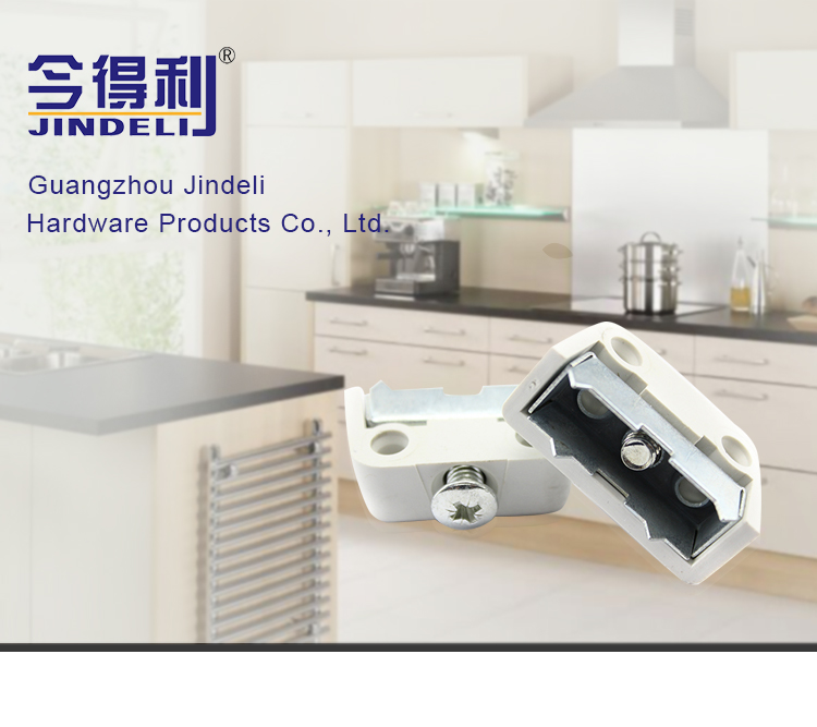 iron and plastic furniture cabinet connector 90 degree