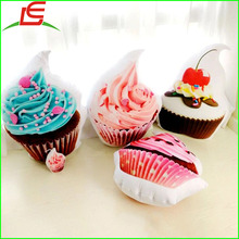 3D ice cream cushion cupcake Dakimakura stuffed plush pillow
