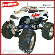 1:8 gas powered rc monster trucks