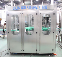 Gas Drinking CO2 Contained Carbonated Soft Drink Bottle Filling Machine Factory