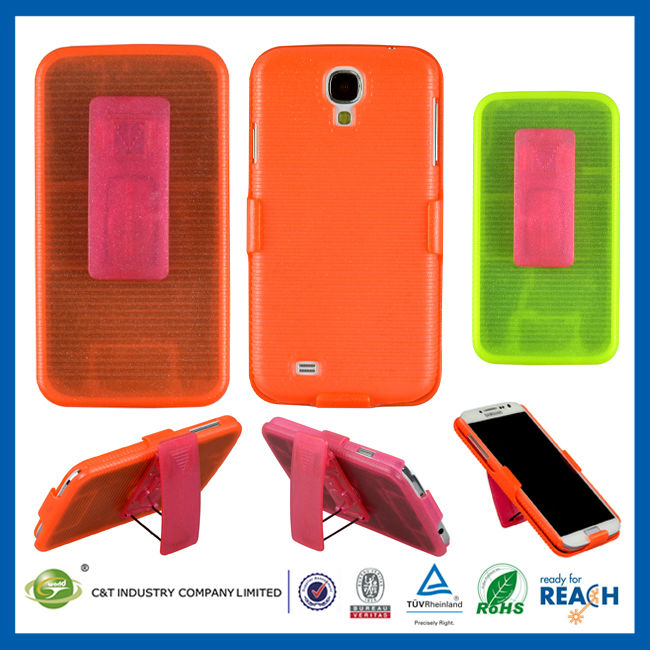 C&T Belt clip holster hard case for samsung galaxy s4 active
