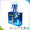 JEYCO BAGS Cangnan factory custom promotional slogan pp eco woven shopping gift bags for kids