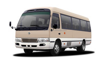 DONGFENG EQ6701LHT LEFT HAND DRIVE COASTER BUS FOR SALE 15-25 SEATS