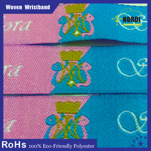 hot selling product in europe 2015 ribbon wristband