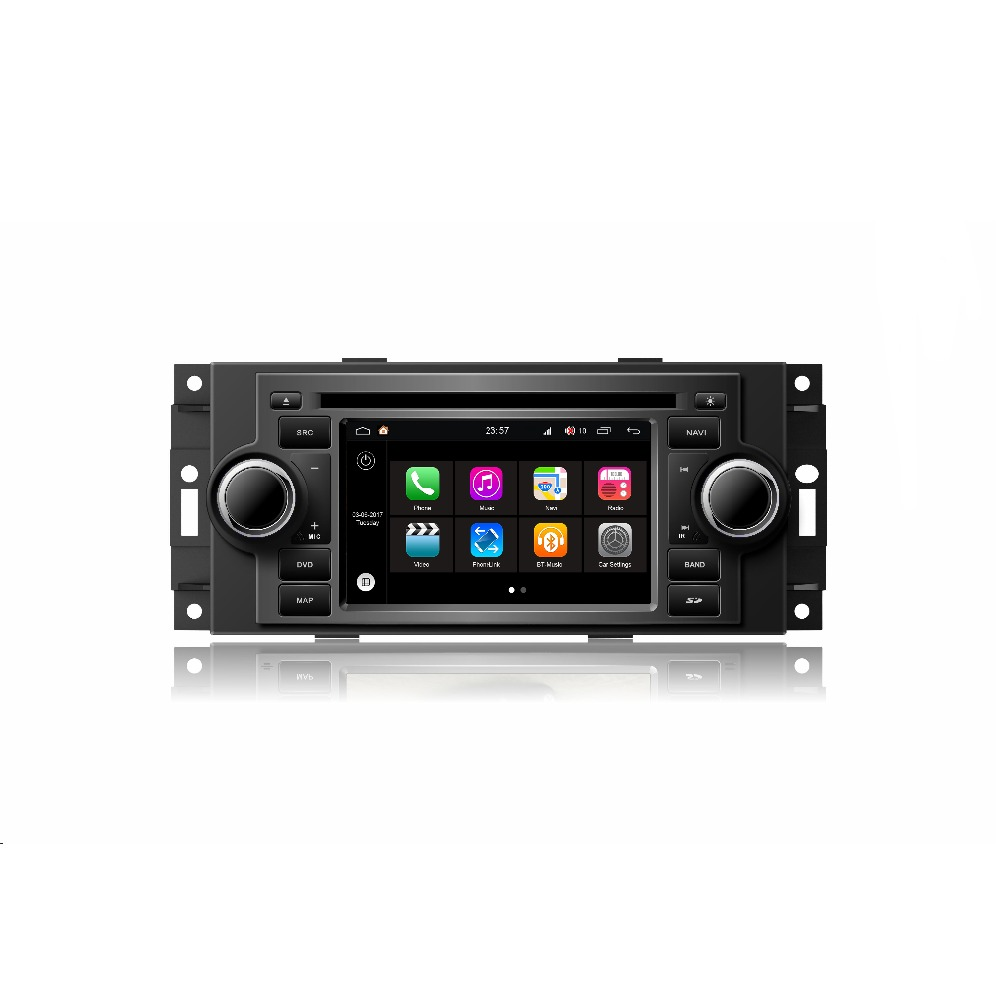 "Android 7.1 S190 platform 2din car video dvd player for Chrysler 5"" For 300C with Wifi (TID-Q206)"
