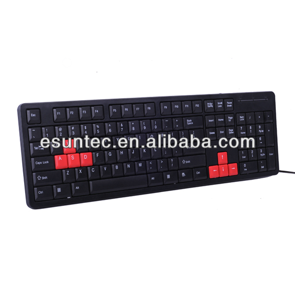 Standard Ergonomics ABS USB Keyboard PC ,K-300