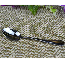pure silver spoon in 304stainless steel