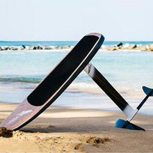 Carbon fiber hydrofoil kite / SUP / surf board