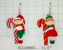 New gift christmas plush toy hainging christmas tree elf doll