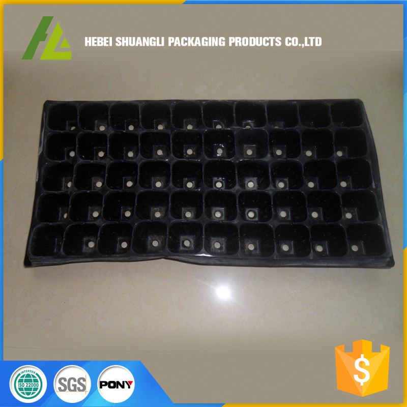 nursery container sprouting plastic plant vacuum forming tray for propagation