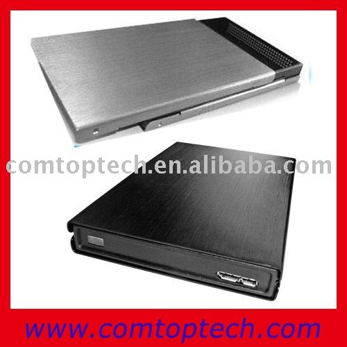 sliding usb 3.0 sata external 2.5 hdd enclosure