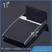 Fast delivery Factory price leather mobile pu card holder