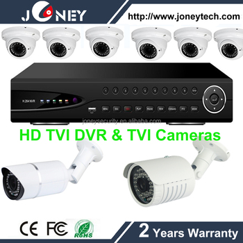 Hybrid mode TVI DVR , 4/8/16 Channel HD TVI CCTV DVR