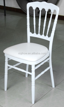 strong pp napoleon chair with metal core for banquet from china factory