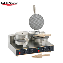 Commercial ice cream cone waffle baker machine/cone baker ice cream