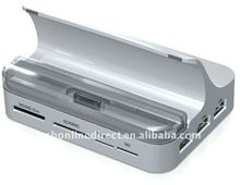 All in 1 One Docking Station Dock Charger for iPad /iPad 2 iPod iPhone