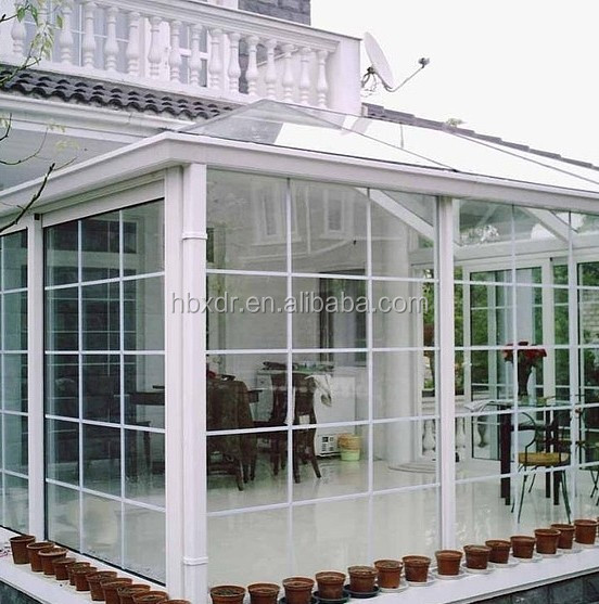 Aluminum profile -for conservatory roofing systems