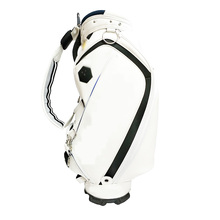 Popular New Factory Customize Design PU Leather Golf Tour Bag
