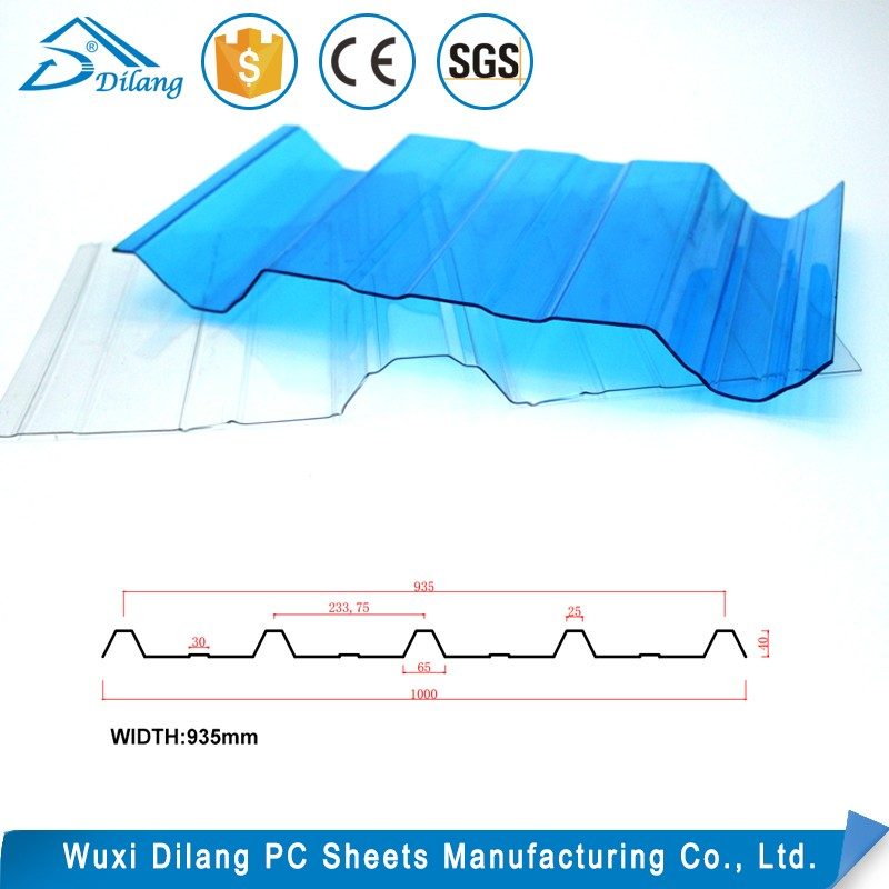 China factory flexible polycarbonate panel