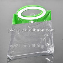 Custom Transparent pvc bag,jewelry pouch round pvc pouch bag