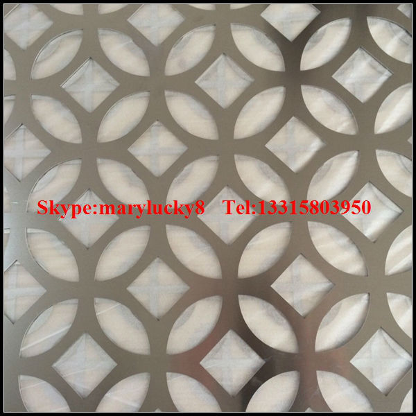 Pattern Metal Perforated Sheet Decorative Perforated Metal