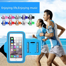 Cell phone accessories sweat neprene armband,Outdoor waterproof reflective sport armband ,accept paypal