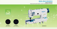 Double Needle Lockstitch Industrial Sewing Machine