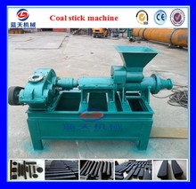 30 years Durable Silver Charcoal Bar Making Machine | Coal Rods Extruding Machine