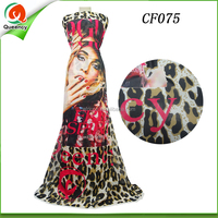 Culture Print collection african ankara print chiffon fabric 100% Polyester Woven Fabric