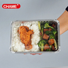 foil containers DISPOSABLE BBQ food tray aluminium foil bbq grill tray