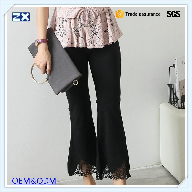 Professional bell bottom trousers cutting with great price