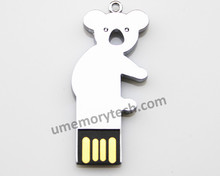 paypal accept usb flash drive , real capacity metal usb stick , koala bear shaped usb pen drive