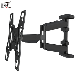Articulating LCD Plasma Swivel LED TV Wall Mount Bracket With Dual Arms