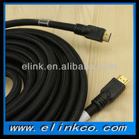 Cheap HDMI Cable wholesale 10-20m with firrite and Nylon