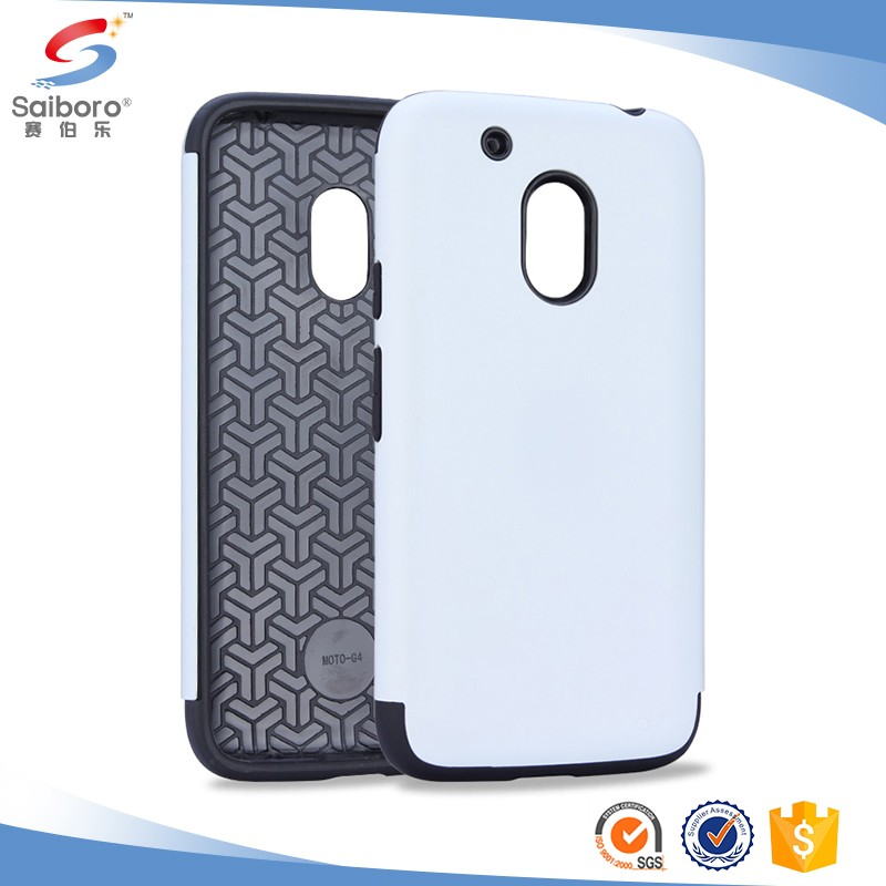 TPU PC bumper phone case for moto g4 g5 plus